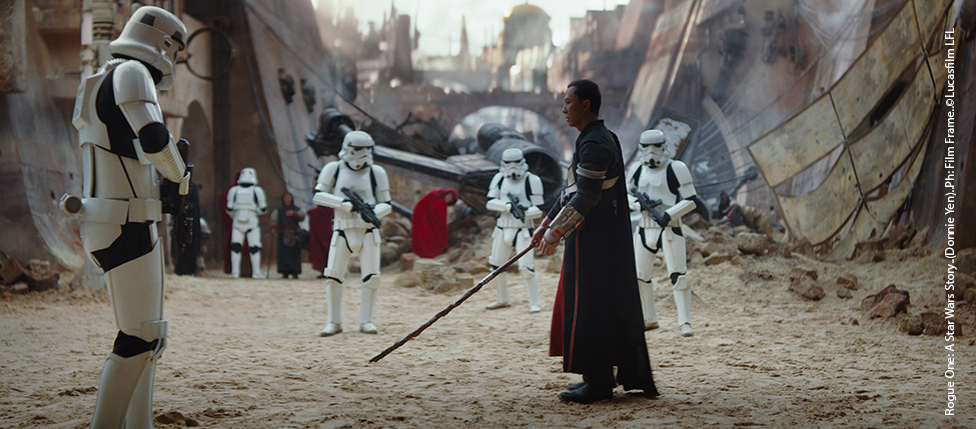 Rogue One: A Star Wars Story..(Donnie Yen)..Ph: Film Frame..©Lucasfilm LFL