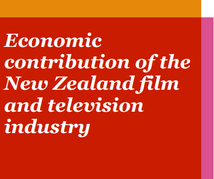Economic Contribution of the New Zealand Film and Television Industry